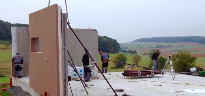 Baubeginn Destillathek