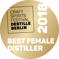 Destille Berlin 2018 Sonderpreis Best Female Distiller